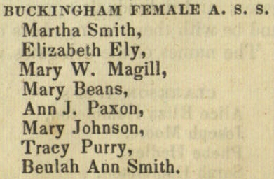 Buckingham Female Anti-Slavery Society