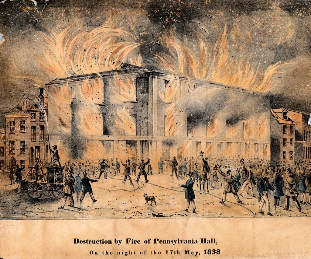 The Burning of Pennsylvania Hall